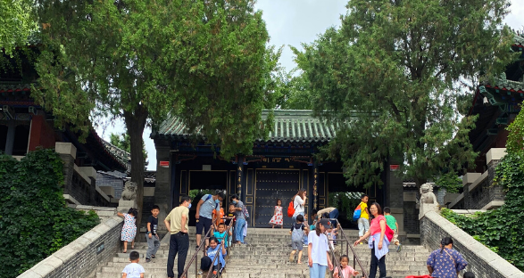 Daming Lake Steps, Jinan