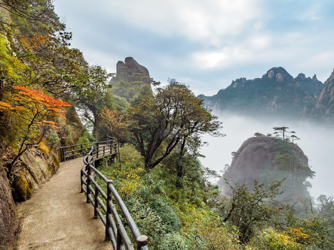 Sanqing Mountain, Shangrao, China